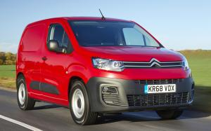 Citroen Berlingo Van 2018 года (UK)